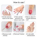 Buy ECBASKET Nail Polish Remover Gel Polish Remover Soak Off Foils 250pcs Gel  Nail Polish Remover Wrap Foils with Lager Cotton Pad Nail Gel Remover Tool  Online in Vietnam. B079L4XJM4