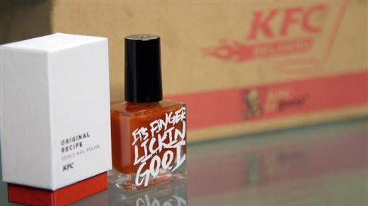 Finger lickin' good? KFC launches a line of edible nail polish that tastes  like its fried chicken flavors (3) - People's Daily Online