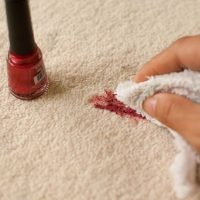 How to Get Nail Polish Out of Carpet   Carpet cleaning hacks, Carpet  cleaning pet stains, Fingernail polish
