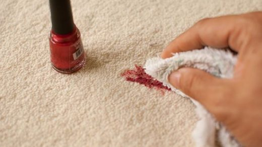 How to Get Nail Polish Out of Carpet | Carpet cleaning hacks, Carpet  cleaning pet stains, Fingernail polish