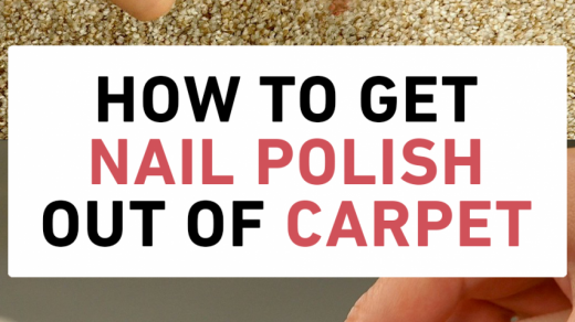 How To Remove Nail Polish From Carpet - arxiusarquitectura