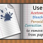 Easy Ways to Remove Ink from Paper - Home Quicks
