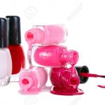 Open Bottles With Bright Nail Polish Isolated On White Stock Photo, Picture  And Royalty Free Image. Image 13818796.