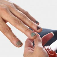 Manly Manicures End in Color - The New York Times
