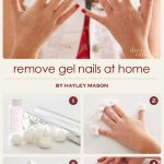How To Remove Gel Nail Polish at Home Without Ruining Your Nails - More   Gel  nail removal, Nails at home, Gel nails at home