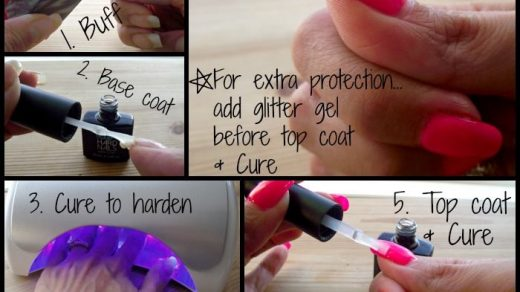 How to Easily Fix a Cracked Nail with your Gel Polish. www.DIYHardNails.com  | Gel nail removal, Gel nails french, Gel nail tips