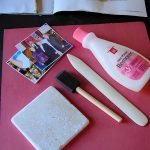 Photo Transfer Using Nail Polish Remover - Operation: Stand By Your Man