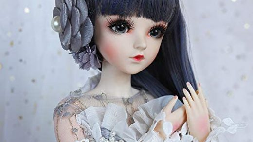 UCanaan BJD Doll 1/3 SD Dolls 24 Inch 18 Ball Jointed Doll DIY Toys with  Full Set Clothes Shoes Wig Makeup, Best Gift for Christmas-Selina- Buy  Online in India at Desertcart - 172990724.