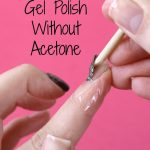 Remove Gel Polish Without Acetone   Remove gel polish, Gel nail polish  remover, Gel nail removal