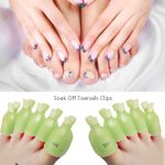 Buy Teenitor Gel Removal Clips, 20 Pieces Reusable Toenail and Finger Nail  Gel Polish Remover Set, Gel Nail Polish Remover Clips - Green Online in  Vietnam. B074DWC6NZ