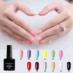 Buy Ziomizi Professional Gel Nail Polish Kit with LED UV Light Therapy Lamp  for Beginners Home and Nail Salon Use Online in Indonesia. B08V4VN1VW