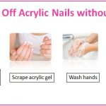 How to Take Off Acrylic Nails without Acetone - Nails Journal   Remove acrylic  nails, Take off acrylic nails, Acrylic nails at home