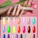 Buy Syntus 25 Pcs Gel Nail Polish Kit, Soak Off Nail Gel Collection with  8ML Matte & Glossy Top Coat and Base Coat Manicure Nail Art Salon, Colorful  City Online in Hungary.