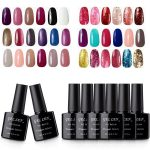 Buy Gellen Pick Any 8 Colors Gel Nail Polish Set 300 Colors Collection Pure  Shimmers Glitters Nail Gel, 10ml Nail Art Home Gel Manicure Salon Kit  Online in Taiwan. B01GUSEJLG