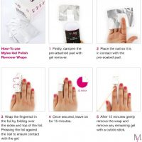 Buy Mylee 100pcs Gel Nail Polish Remover Foil Wraps, Aluminium Foil Wraps  with Pre-attached Lint-Free Cotton Pads for Fast & Gentle Soak Off Gel  Polish Removing Online in Hong Kong. B00RZKDGRC