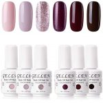 Gellen Gel Nail Polish Set Solid 4 Colors - Baby Pink and Browns Shade  Light and Dark Collection Nail Gel Polish Manicure Kit- Buy Online in  Antigua and Barbuda at Desertcart - 34806434.