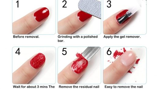 Buy Aliver Gel Nail Polish Remover, Easily & Quickly Removes Soak-Off Gel  Nail Polish, Professional Nail Polish Remover, Protect Your Nails, Take  Effect in 3-5 Minutes, 0.5 Fl Oz Online in Finland.