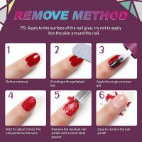 Buy 2 Pack Aliver Nail Polish Remover for Natural, UV Gel, Glitter,  Acrylic, Shellac, Sculptured Nails and Dark Colored Paints, Done in 180  Seconds, Quick and Simple, No Need Foil, Soaking or