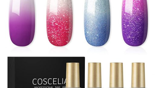 Gel Nail Polish Holiday Mood Temperature Color Changing Gel Polish Soak Off  Hot and Cold Ombre Nail Polish with Beauty Gift Set 6 Pcs Colors 10 ML by  Modelones: Buy Online at