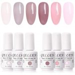 Gellen Gel Nail Polish Kit Classic Elegance 6 Colors With Base Coat and Top  Coat - Popular Home Nail Salon Trendy Glamour Colors Set: Buy Online at  Best Price in UAE - Amazon.ae
