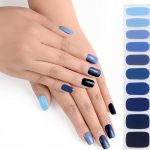 Iris Avenue Semi Cured Gel Nail UV Lamp Wraps Des Max 52% OFF Required 9