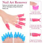 Buy Gel Polish Remover Kit, Anezus 1045pcs Gel Nail Polish Remover Tools  with Nail Clips, Nail Wipes, Cuticle Pusher and Cutter, Nail Buffer and  Files for Acetone Acrylic Nail Remover Online in