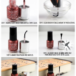 Ever open your favorite lacquer and discover the brush is warped??? This  fix *usually* works! Occasionally I've needed t…   Nail polish brush, Nail  care tips, Nails
