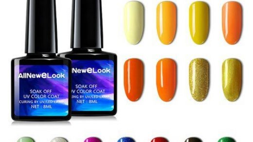 Buy AllNeweLook Drop Shipping Nail Art Design Manicure Cherimoya Colors  Soak Off Vernis Gel Polish LED UV Gel Nail Polishes Lacquer in the online  store AllNeweLook factory Store at a price of