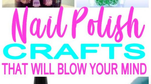 Nail Polish Bottle Crafts & Hacks DIY Projects To Use Empty Nail Polish  Bottles Recycle DIYs – Featured