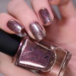 Buy ILNP Olivia - Chocolate-Rose Holographic Ultra Metallic Nail Polish  Online in Vietnam. B08HY7255F