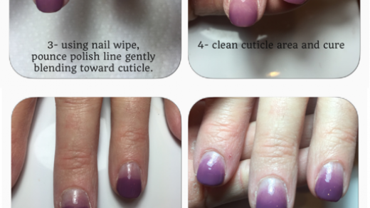Even Gel Fade (Ombre) Nail Tutorial using Sweet Sanctuary and Fireworks  JustGel Polish. | Ombre nails tutorial, Nail tutorials, Ombre gel nails