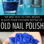 Nail Polish Thinner Tips: How To Revive & Thin Out Old Nail Polish – Cheap  cosmetics, beauty how-tos & drugstore beauty products   Old nail polish, Nail  polish hacks, Thin nail polish