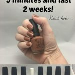 My Fingernails Take 5 Minutes And Last 2 Weeks. Here's How.   Nail tek, How  to do nails, Diy manicure