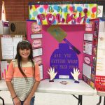 What better way to experiment on what nail polish last longer. My niece did  t…   Kids science fair projects, Science fair projects, Elementary science  fair projects