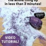How to clean spilled nail polish in seconds - Feathers in the woods