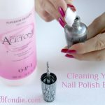 Cleaning Your Nail Polish Bottle
