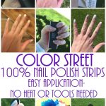 Introducing Color STREET- 100% Nail Polish Strips- Easy Application- No  Tools or Heat Needed • Keeping it Simple