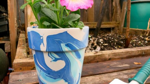 Nail Polish Marbled Flower Pots : 6 Steps (with Pictures) - Instructables