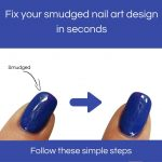 Fix your smudged nail art design in seconds! That easy! – Mitty Melbourne  Australia