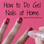 One Response to How To Do Gel Nails At Home