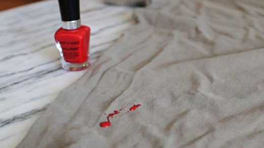 How to Remove Nail Polish from Clothes- Jeans, Fabric, Bed sheets,