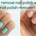 How to remove stubborn nail polish Archives - Get Long Nails