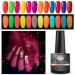 Cre8tion - Glow In The Dark Soak Off Gel - 24 Colors Collection – Skylark  Nail Supply