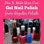 How to Make Your Own Gel Nail Polish from Regular Polish - Jinxy Beauty