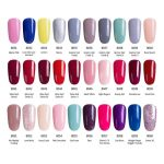 Modelones French Manicure Style Nail Gel Polish Classic Red Color Gel Nail  Polish Cure UV Lamp Nail Gel Varnish Grey Color Gel|color gel|nail gelcolor gel  nail polish - AliExpress