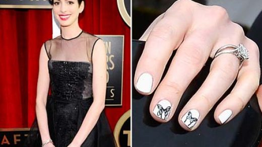 Nail Art Colors And Designs With Black Dress | Buzfr