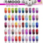 China O. R. I Temperature Mood Color Changing Gel Polish - China Gel Nail  Polish and Nail Gel Polish price