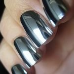 Top 40 Gorgeous Metallic Nail Designs That You Can Try To Copy - Nail Polish  Addicted   Metallic nails design, Metallic nails, Mirror nails