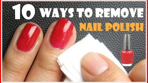 10 WAYS TO REMOVE NAIL POLISH WITH AND WITHOUT REMOVERS | MELINEY HOW TO...  | Nail polish, Diy nail polish remover, Nail polish remover