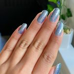 Serendipity in 2021   Prom nails silver, Prom nails, Homecoming nails silver